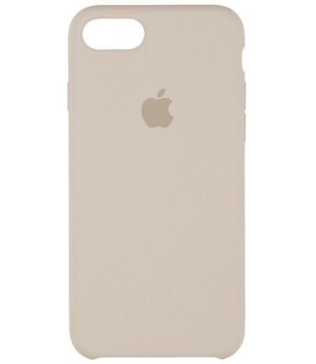 Apple MMWR2ZM/A Silicone Phone Case for Apple iPhone 7 (Metallic)