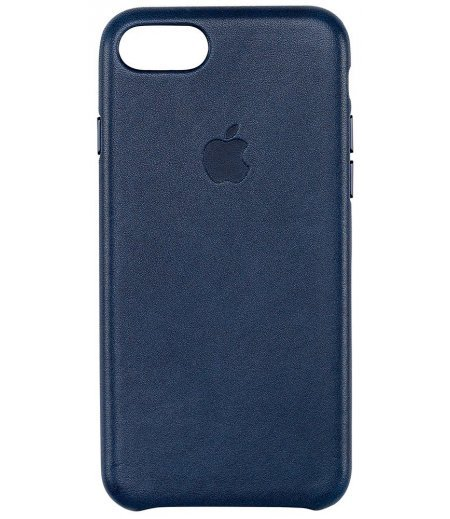 Apple MMY32ZM/A Leather Phone Case for Apple iPhone 7 (Midnight Blue)