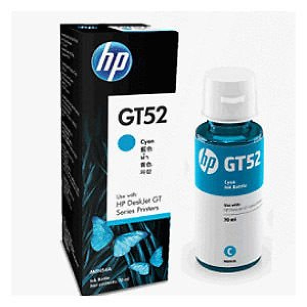 HP GT52 CYAN INK BOTTLE HP Ink & toner
