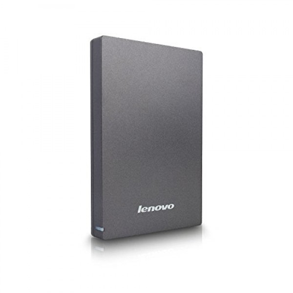 Lenovo F309 USB3.0 1TB External Hard Disk, Grey External Hard Drive