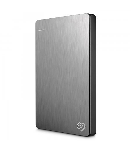 Seagate Backup Plus Slim 1TB Portable External Hard Drive with Mobile Device Backup (Silver)