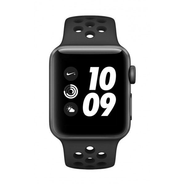 Apple Watch Nike+ GPS 38mm Smart Watch (Space Grey Aluminum Case, Anthracite/Black Nike Sport Band) iWatch