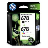HP Cartridge 678 Blk + 678 Color Combo Pack