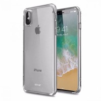 Silicon clear case for iPhone X