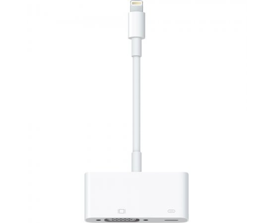 Apple MD825ZM/A Lightning Connector to VGA Adapter