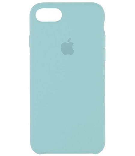 Apple MMX02ZM/A Silicone Phone Case for Apple iPhone 7 (Sea Blue)