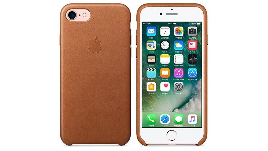 Apple MMY22ZM/A Leather Phone Case (Saddle Brown) iAccessories