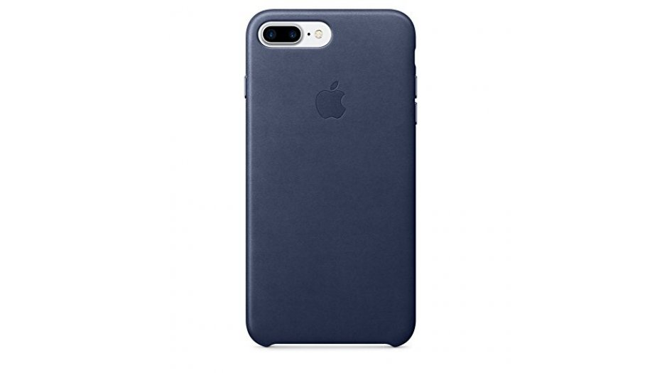 Apple MMYG2ZM/A Leather Phone Case for Apple iPhone 7 Plus (Midnight Blue) iAccessories