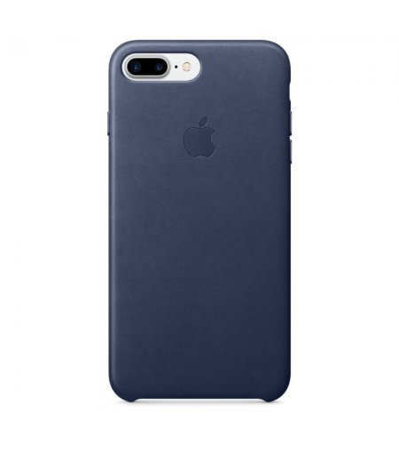 Apple MMYG2ZM/A Leather Phone Case for Apple iPhone 7 Plus (Midnight Blue)