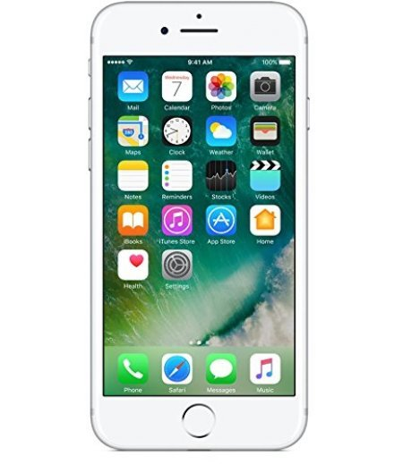 Apple iPhone 7 (Silver, 128GB)