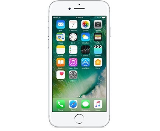 Apple iPhone 7 (Silver, 32GB)