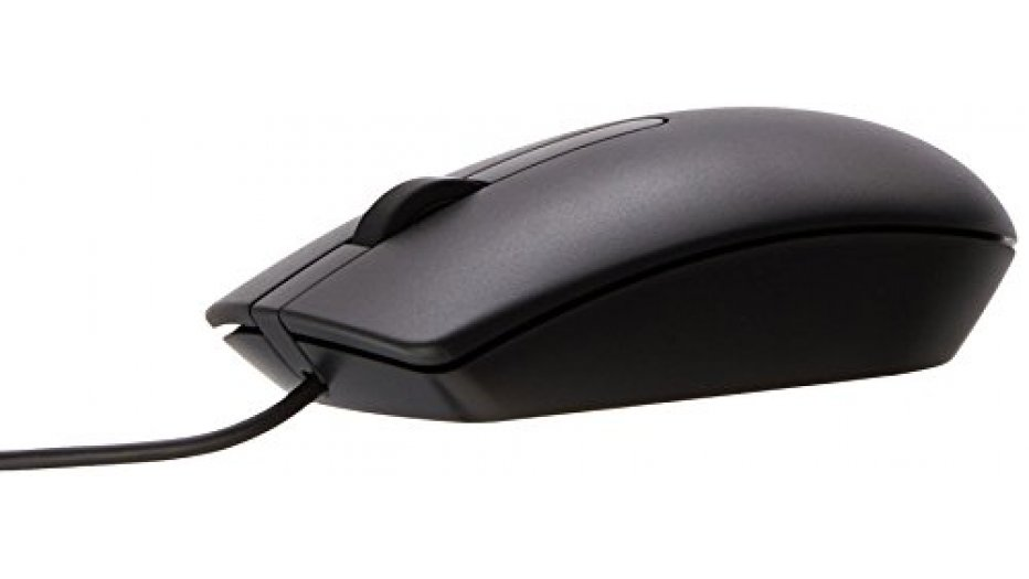 Dell MS116 USB Wired Optical Mouse (1000 DPI) Keyboard & Mouse