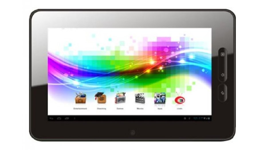 Micromax Funbook P300 Tablet (WiFi, 3G via external dongle), Slate Grey