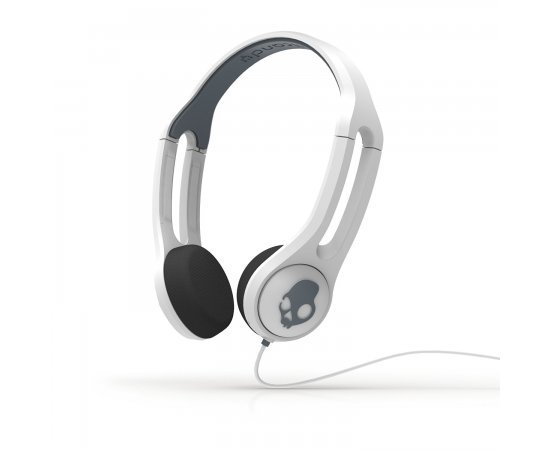 Skullcandy S5IHDY-072 Supreme Icon 3 Headphone with Mic (White)