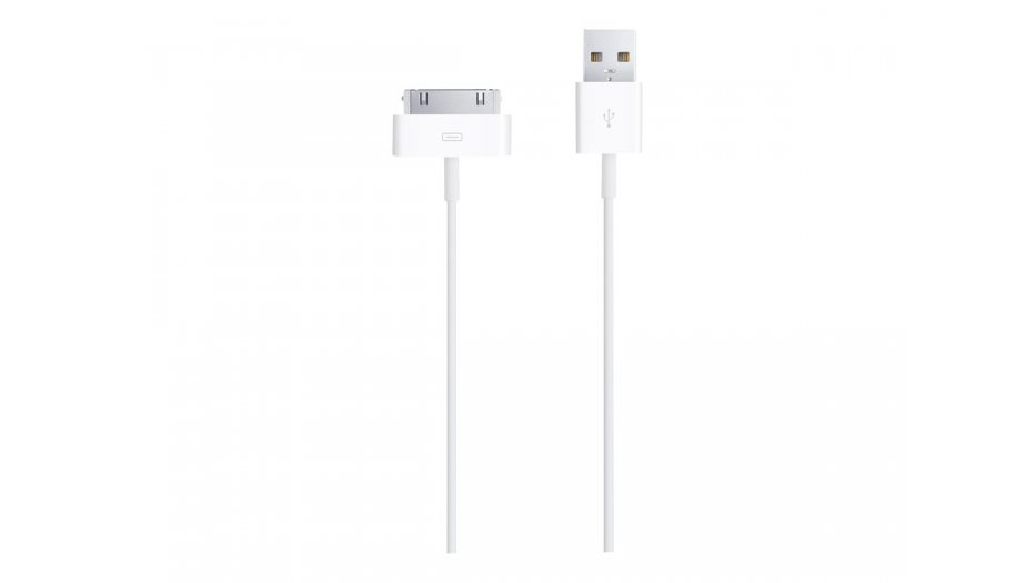Apple MA591ZM/C 30-Pin to USB Cable (White) iAccessories