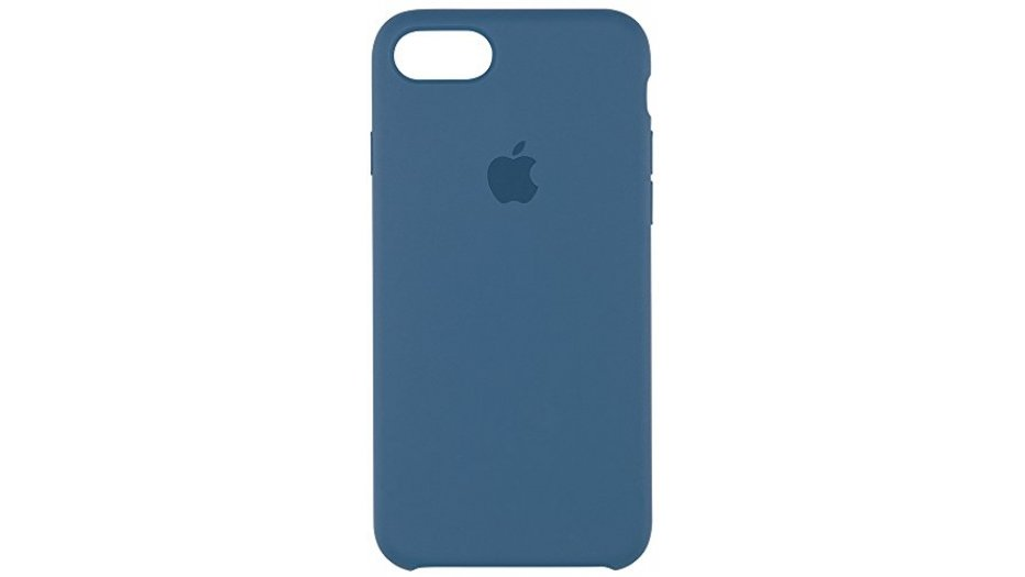 Apple MMWW2ZM/A Silicone Phone Case (Ocean Blue) iAccessories