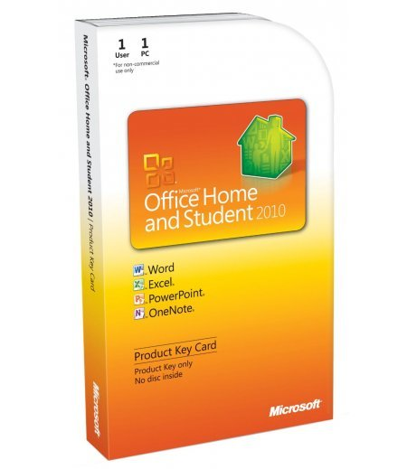 Microsoft Office Home & Student 2010 Key - 1PC/1User
