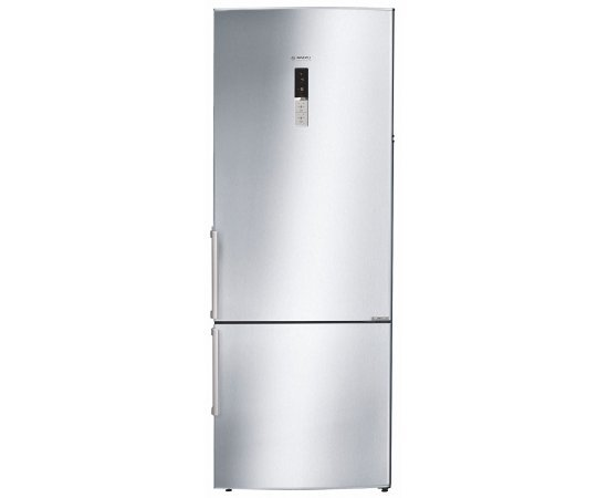 Bosch 505 L 2 Star ( 2019 ) Frost Free Double Door Refrigerator(KGN57AI40I, Silver, Inverter Compressor, Bottom Freezer)