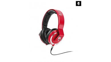 Skullcandy Mix Master 2.0 DJ Over-Ear Headphone with Mic 3 (Red)