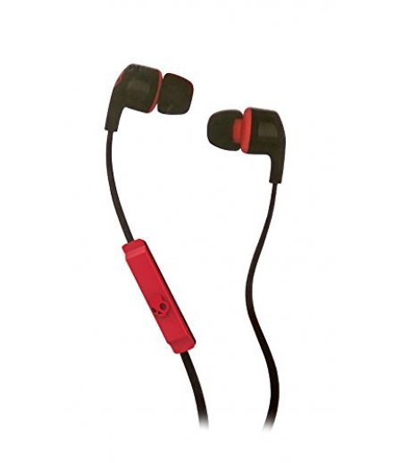 Skullcandy Smokin Bud 2 S2PGFY-010 In-Ear Headphones with Mic (Black/Red)