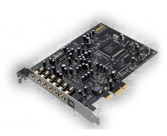 Creative Labs Sound Blaster Audigy PCIe RX 7.1 Sound Card with High Performance Headphone Amp