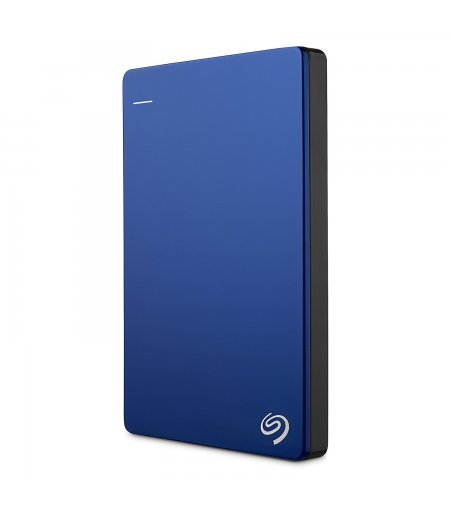 Seagate Backup Plus Slim 1TB Portable External Hard Drive (Blue)