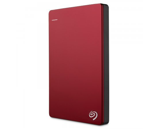 Seagate 2TB Backup Plus Slim USB 3.0 Portable 2.5 Inch External Hard Drive for PC and Mac with 2 Months Free Adobe Creative Cloud Photography Plan - Red