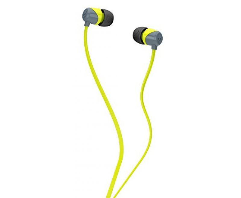 Skullcandy SCS2DUFZ-385 Jib In-Ear Headphone (Lime/Gray)