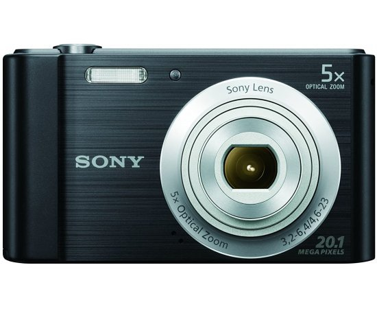 Sony DSC-W800 20.1 MP Point and Shoot Digital Camera with 5X Optical Zoom - multi colours