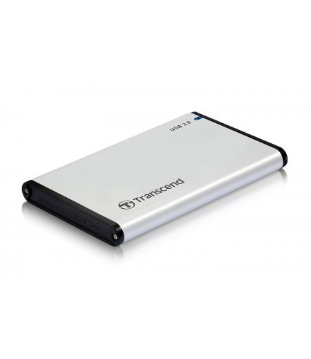 "Transcend 2.5"" Portable internal HDD/SSD Enclosure Casing 25S3 - USB 3.1"