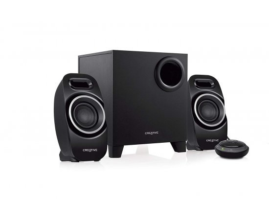 Creative T3250 Wireless 2.1 Bluetooth Wireless Speaker System (Black)