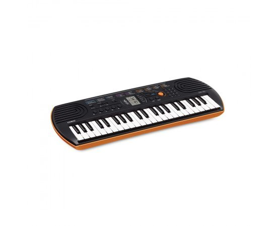 Casio SA-76 Musical Mini Keyboard with Free Adaptor for Kids