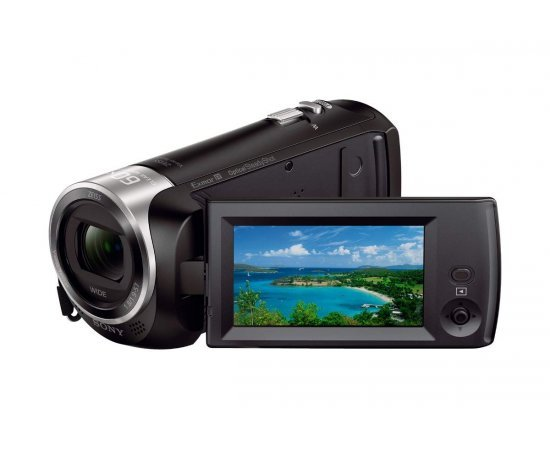 Sony HDR-CX405 9.2MP HD Handycam Camcorder with Free Carrying Case (Black)