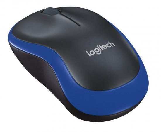 Logitech M185 Wireless Mouse (Blue)