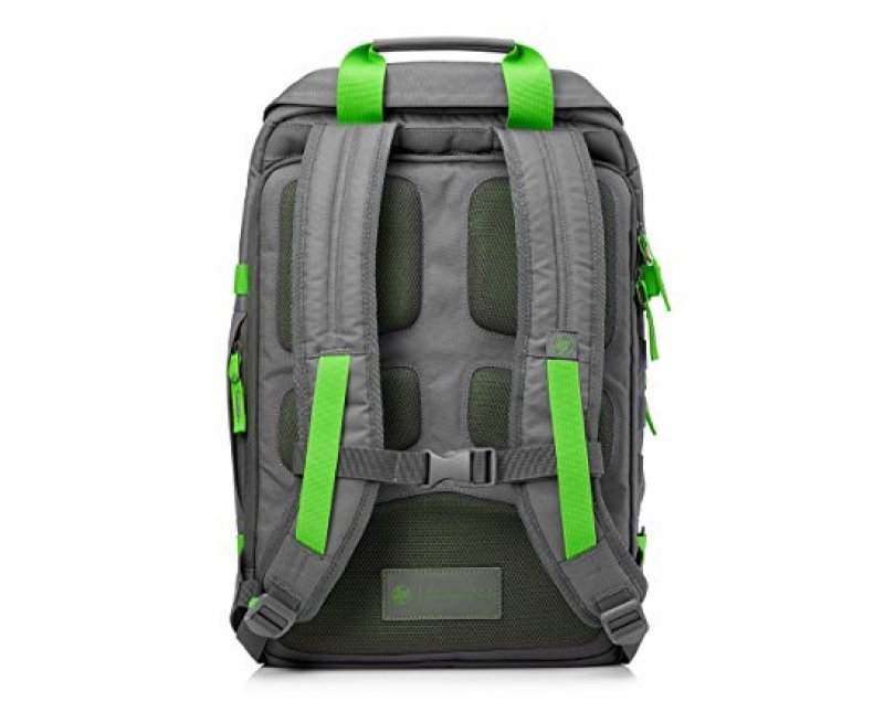HP Odyssey Backpack for 15.6-inch Laptop (Grey/Green)