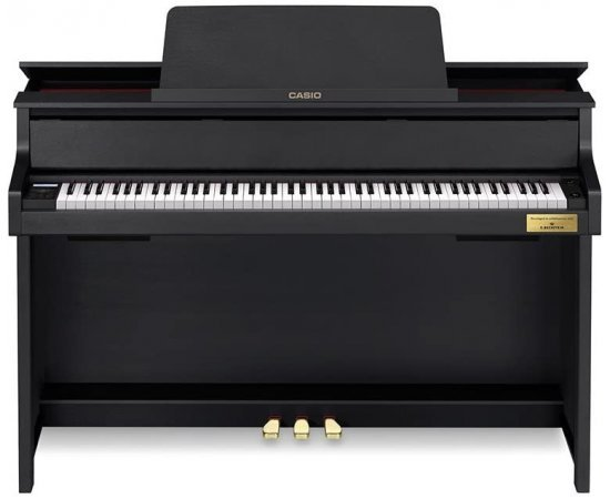Casio GP-300BK 88keys Black Digital Piano – Electronic Keyboard (38 W, 1434 mm, 489 mm, 963 mm, 77.5 kg, Black)