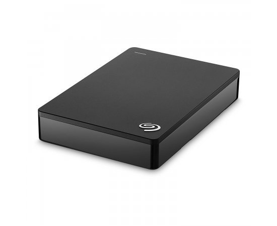 Seagate Backup Plus Slim 4TB Portable External Hard Drive with Mobile Device Backup USB 3.0 (Black) STDR4000300