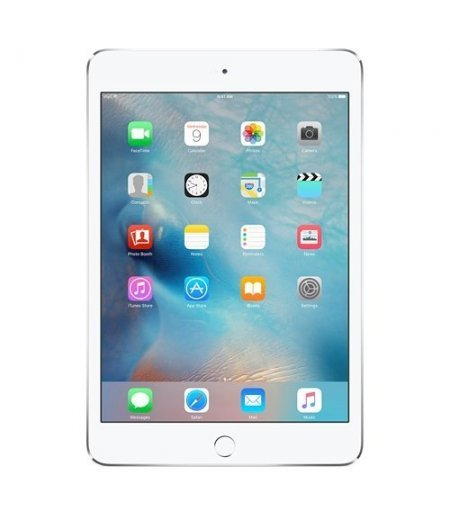 Apple iPad Mini 4 Tablet (7.9 inch, 128GB, Wi-Fi+3G) Silver