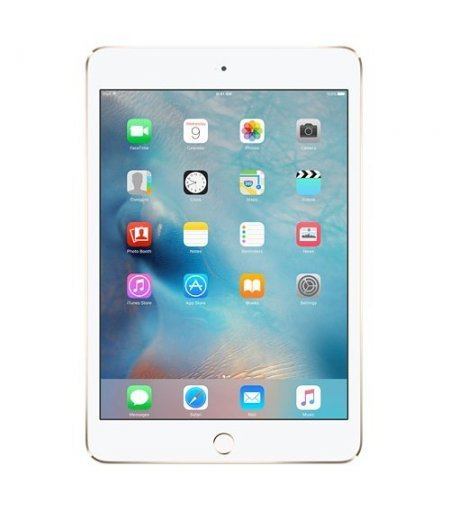 Apple iPad Mini 4 Tablet (7.9 inch, 128GB, Wi-Fi+4G) Gold