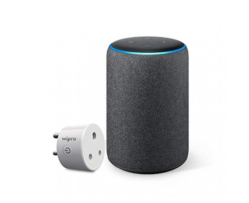 All-new Amazon Echo (3rd Gen) – Improved sound, powered by Dolby (Grey)
