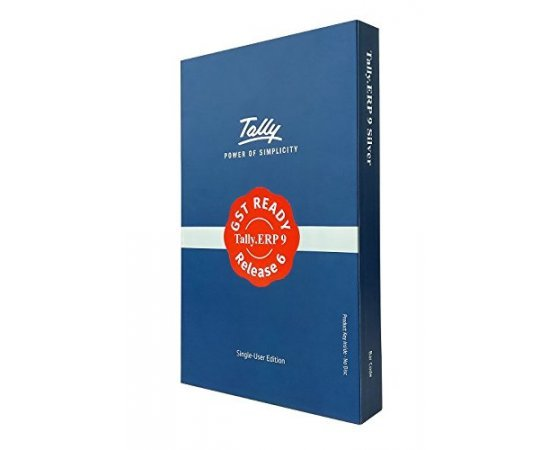 Tally ERP9 Silver GST Ready- Single User (Activation Key Card)