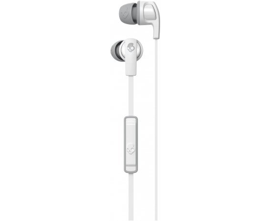 Skullcandy Smokin Buds 2 White/Gray in-Ear Headphones with Mic
