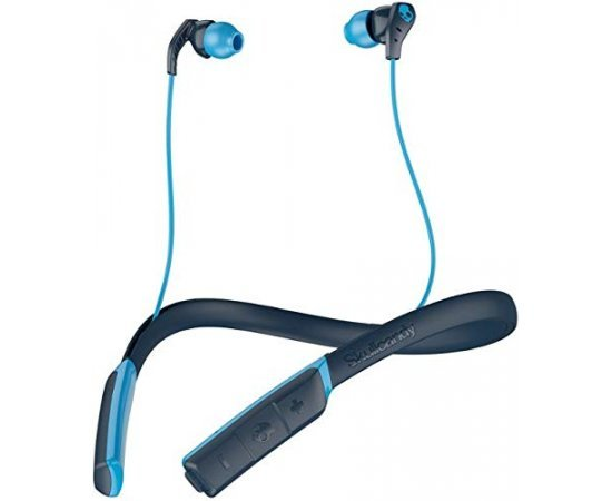 Skullcandy S2CDW-J477 Method Wireless in-Ear Headset with Mic (Navy Blue)