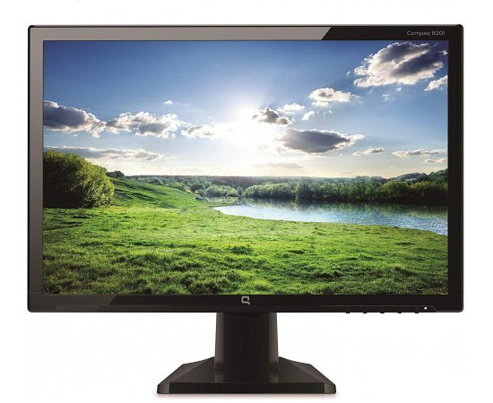 HP Compaq B191 18.5-inch LED Backlit Monitor (Black)