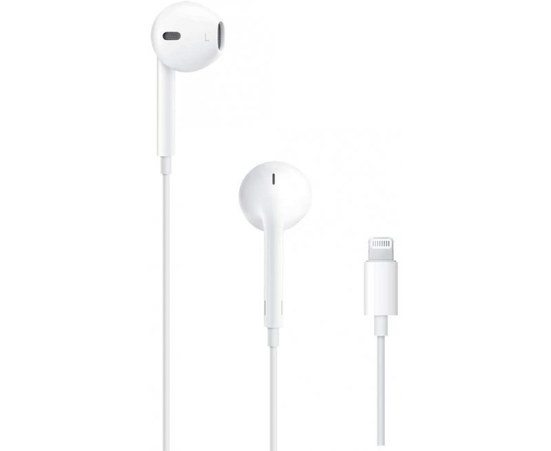 Apple MMTN2ZM/A EarPods with Lightning Connector (White)