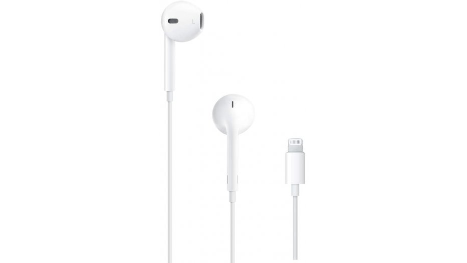 Apple MMTN2ZM/A EarPods with Lightning Connector (White) iAccessories