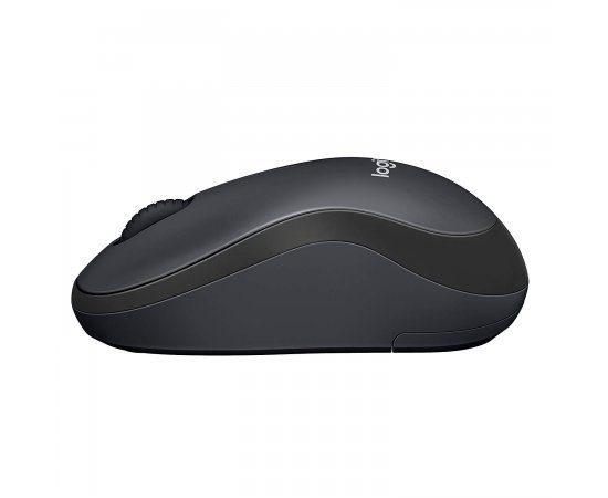 Logitech M221 Silent Wireless Mouse- Charcoal