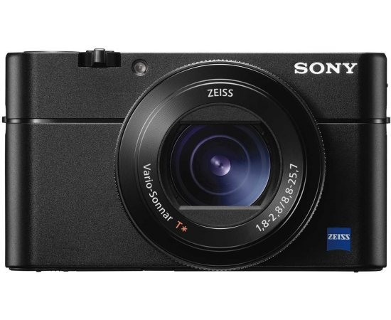 Sony DSC-RX100M5 Advanced Digital Compact Camera (Black) with Free Camera Bag