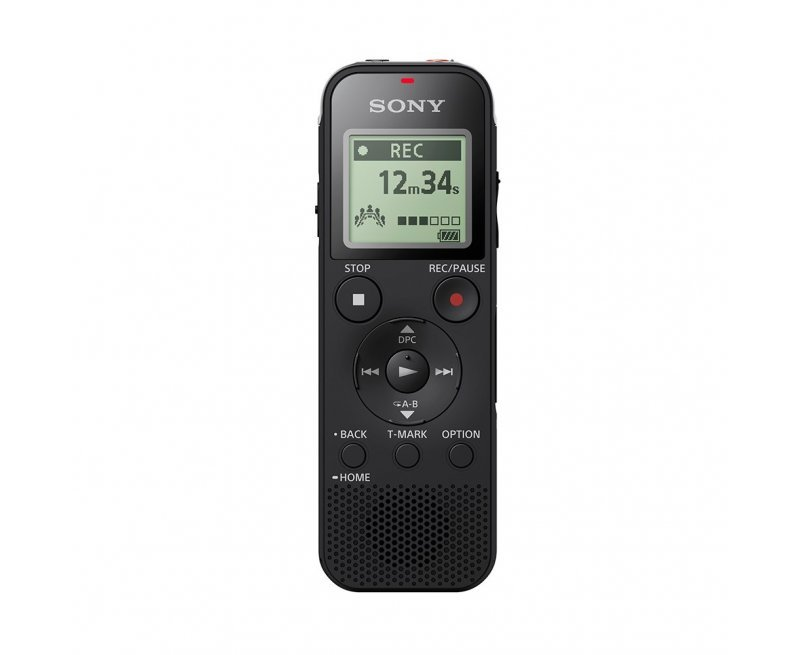 Sony ICD-PX470 4GB Digital Voice Recorder - Black