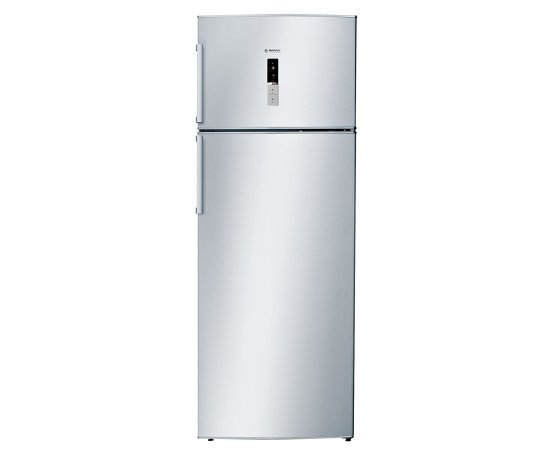Bosch 454 Litre 2 Star Frost-Free Double Door Refrigerator (Chrome Inox Metallic)